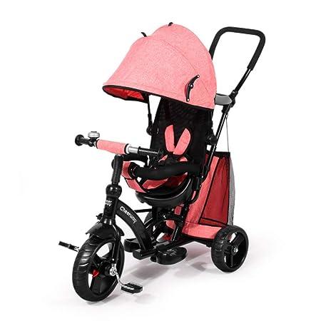 JYY Cochecito Infantil De 3 Ruedas Triciclo Trike Pedaling para ...