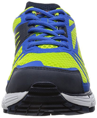 DIADORA ZAPATILLAS DE RUNNING M-N- 4100-1-PATRIOT BLUE GREEN FLUO// PALACE BLUE