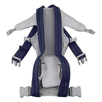Portador de bebé infantil Recién nacido Cuna Niños Sling Wrap Bolsa Bolsa Transpirable Ajustable Bebé Frente Volver Mochila jinete: Amazon.es: Bebé