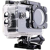 Piqancy Sport Action Camera with 1080P Full HD 12MP CMOS H.264 Support 32GB SD Card Width Angle 170 Degree for Android/iOS (Black)