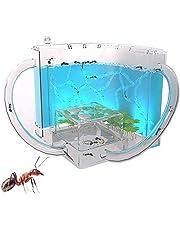 VULID Miernesten, 3D-mierenboerderij Met Doorzichtige Gellabyvrije Kijkgedeelte, Mierenboerderijen Habitat Voor Kinderen Voor Huismieren, Wetenschappelijk Speelgoed