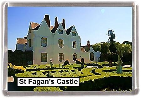 ST Fagans castillo al por mayor Lote de 12 imanes de nevera 12 de ...