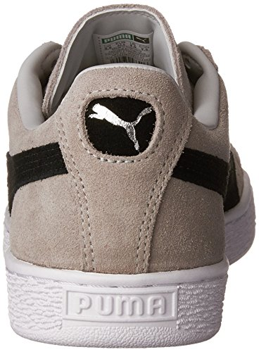 PUMA Adult Wildleder Klassischer Schuh Graue Violet-Puma Schwarz