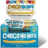 Chocolate ChocoNoNos (16 Pack) Naturally Colored, Vegan, Milk Free, Nut Free Chocolate Candy