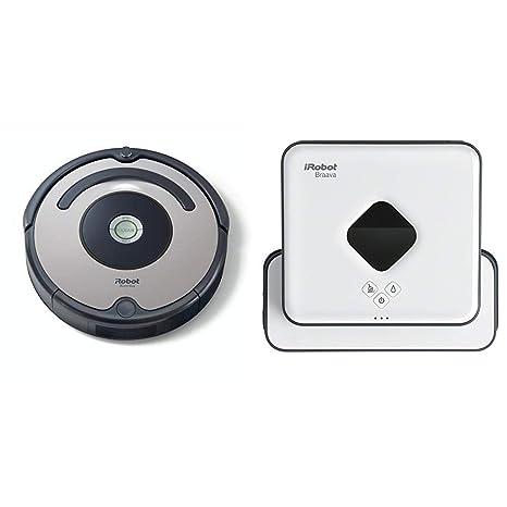 iRobot - Set con Roomba 615 Robot Aspirador para Suelos Duros y Alfombra, Tecnología Dirt Detect + ...