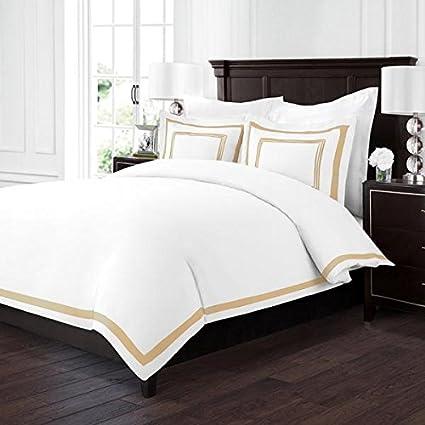 Amazon Com Sleep Restoration Luxury Soft Brushed Embroidered