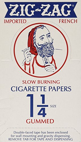Zig Zag 1.25 Cigarette Rolling Papers - 24-Pack Box