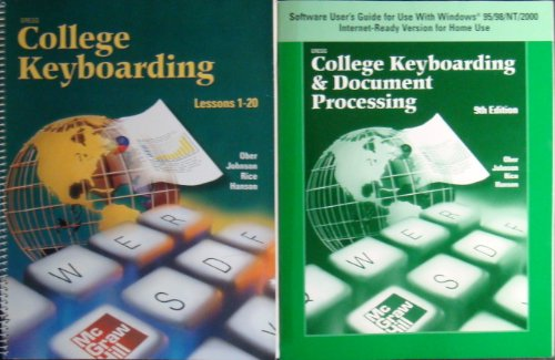 Gregg College Keyboarding & Document Processing (GDP), Lessons 1-20, Student Text