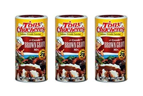Tony Chachere Instant Gravy Mix, Instant Brown Gravy, 3 Count