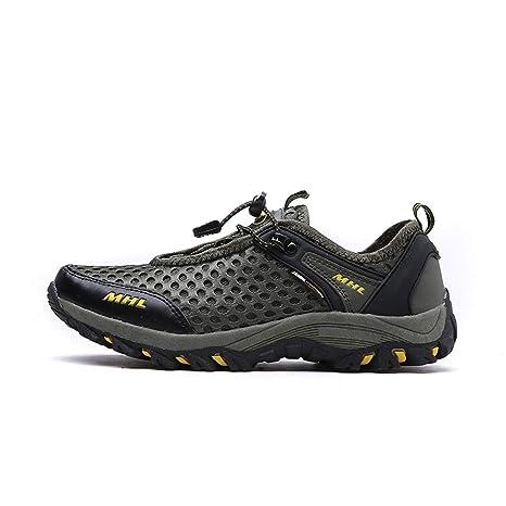 f79fb6694ff6d Amazon.com: Giles Jones Men Hiking Shoes Wading Leather Shoes ...
