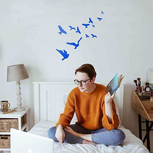 Vinyl Wall Art Decal - Flying Birds - 23