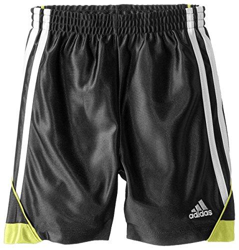 Adidas Little Boys' Speed Short, Black/Yellow, 4 by adidas (Image #1)
