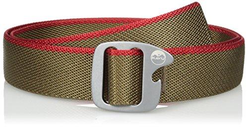 Kavu Belt - KAVU Adult Beber Belt, Tobacco, Medium