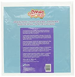 Living World Gravel Paper, 15-3/4 Inches x 15-1/2 Inches (8/Pack)
