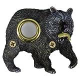 Waterwood Handpainted Bear with Fish Doorbell