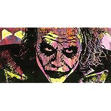 Dean Russo Heath Ledger Joker I Am So Serious Modern Decorative Art Print (Unframed 12x24 Poster)