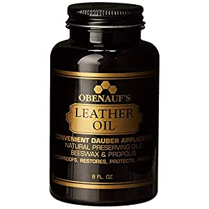Obenauf's LP Boot Preservative 8 oz - Preserves and Protects Leather - Made in the US