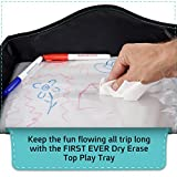 Play Tray Kids Travel Tray with Dry Erase Top for