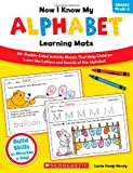 Now I Know My Alphabet Learning Mats, Lucia Kemp Henry, 0545320615