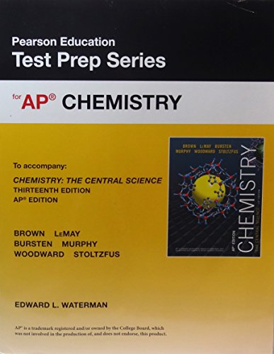 Test Prep Workbook for AP Chemistry The Central Science 13th Edition