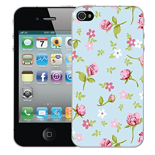 Mobile Case Mate iPhone 4s Silicone Coque couverture case cover Pare-chocs + STYLET - Bienial pattern (SILICON)