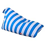 Amyove Storage Bag Large Capacity Rhombus Storage Bag for Stuffed Toys Handled Ball-Shape Pocket Green stripes