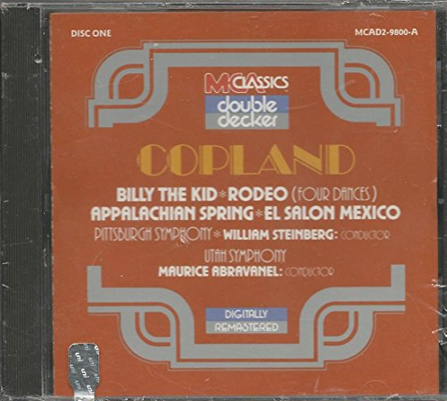 Copland / Billy the Kid / Appalachian Spring / El Salon - Pittsburg Outlets