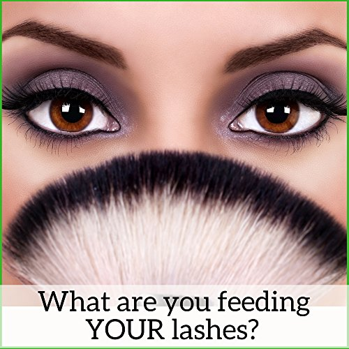 Natural Mineral Mascara | Made w Organic Ingredients | Non GMO | Hypoallergenic for Sensitive Eyes | Add Length & Volume | Vegan | Cruelty Free | Soften, Nourish & Grow Better Lashes! by Skin2Spirit (Image #6)