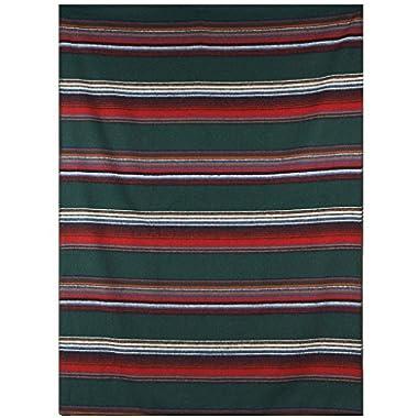 Woolrich Sherpa Overlook Pass Wool Blanket, PINE (Green)