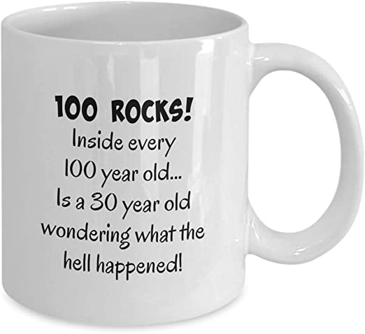 coffee mug male men woman 1919 100th birthday gifts for women happy 100 year old fun gag gift present husband guys dad tea c Gearbubble wife mom man