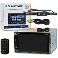 Blaupunkt Car audio Double DIn 2DIN 6.2 Touchscreen DVD MP3 CD stereo Bluetooth + Remote & DCO Waterproof Backup Camera with Nightvision