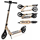 EXOOTER M1350 8XL Adult Cruiser Kick Scooter With 200mm Wheels And Suspension Shocks.