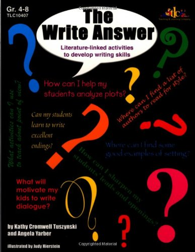 Read Online The Write Answer: Literature-linked activities ebook
