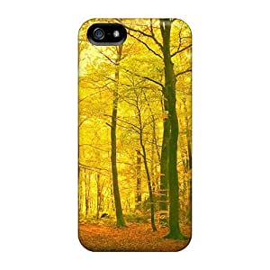 New Golden Grove Tpu Skin Case Compatible With Iphone 5/5s