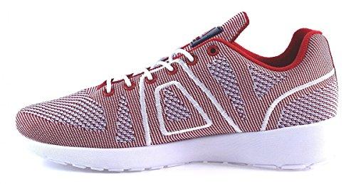 Sneakersball Asfvlt Weiß Marine Super Rot Yarknit Rot qq41r