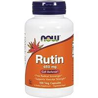 NOW Rutin 450 mg,100 Veg Capsules