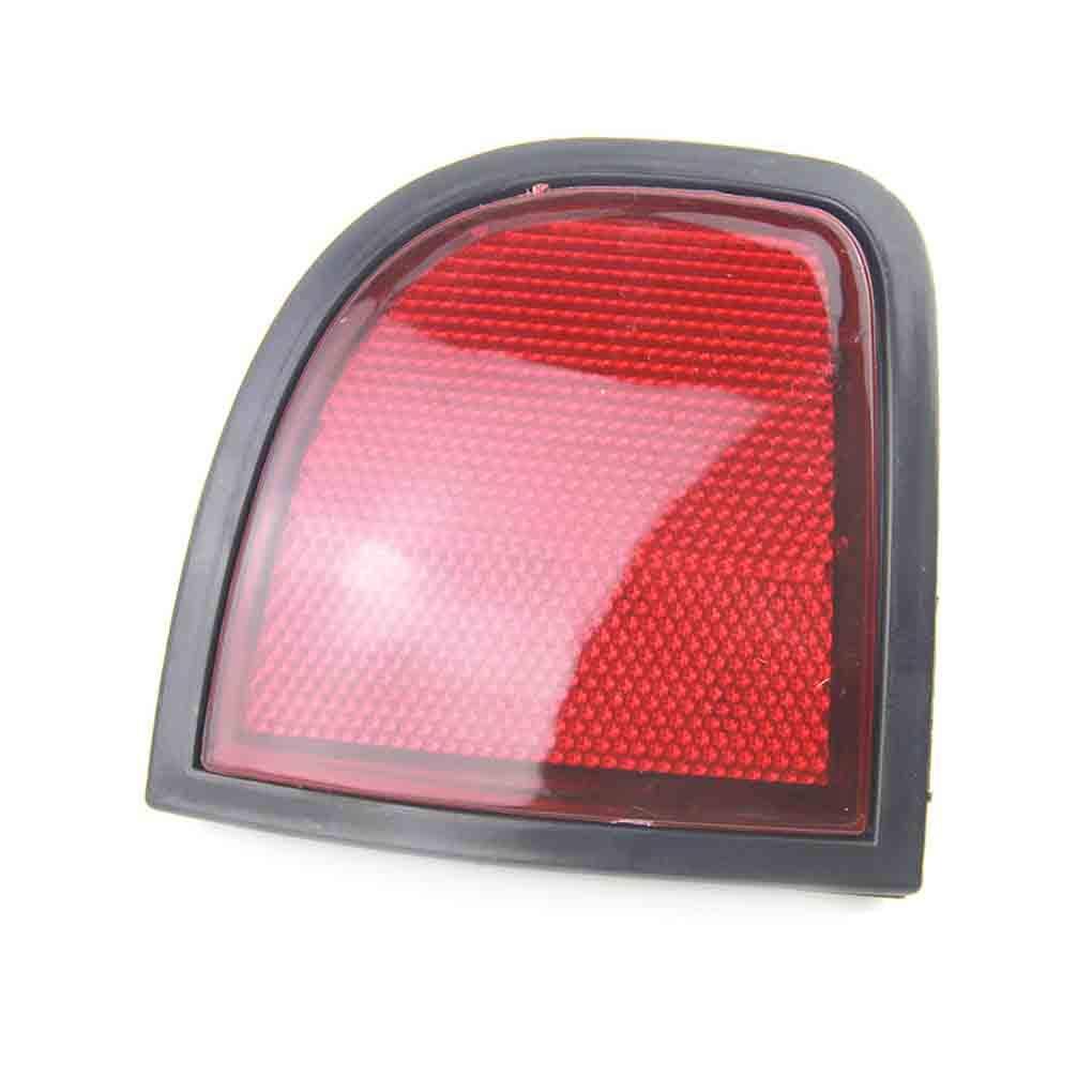Lorsoul Durable 8355A015 hinten Links Beifahrerseite Reflektoren Kit Ersatz f/ür Mitsubishi L200 Triton 05-15