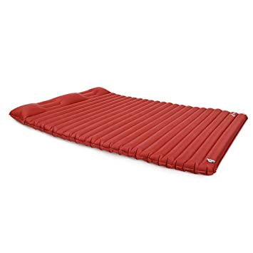 HWShop Sleeping Mat Ultralight colchón de Camping Inflable, Blow ...