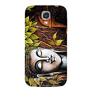 HomeSoGood Religious Life Of Buddha Multicolor 3D Mobile Case For Samsung S4 ( Back Cover)