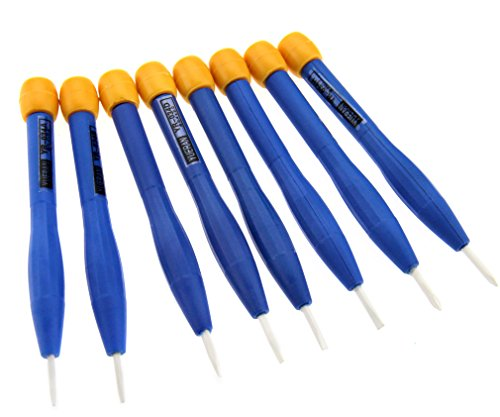 (8 x Anti-static Ceramic Full Type Adjust Frequency Screwdriver Set Hand Tools )