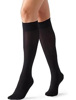Womens Orleans 60 DEN Knee-High Socks Cette
