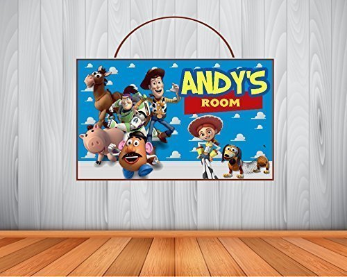 Amazon.com: Personalized TOY STORY Sign, Toy Story Personalized ...