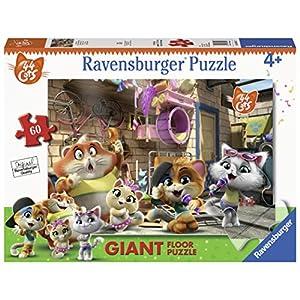 Ravensburger 03005 44 Gatti Puzzle Giant 60 Pezzi