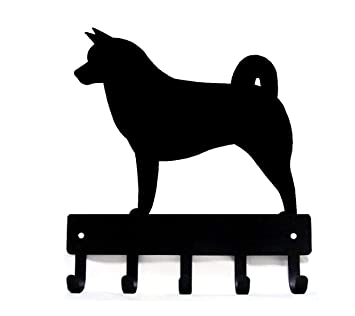 Amazon.com: The Metal Peddler Akita - Perchero para correa ...