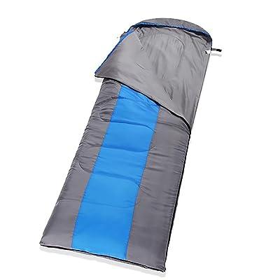 À l'extérieur Plus épais Sacs de couchage Peut être cousu Adulte Élargi Allongé Camping Équipement
