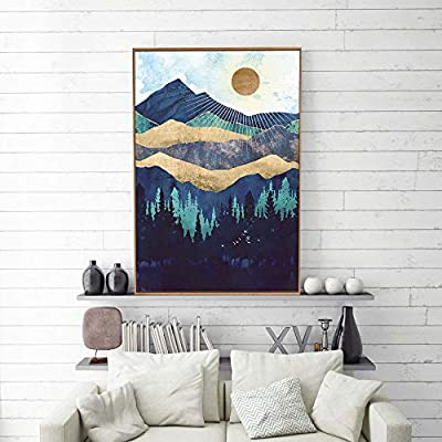 Fascinating Creative Design, Framed Home Artwork Nordic Style Abstract Color for Living Room Bedroom, Top Quality Design