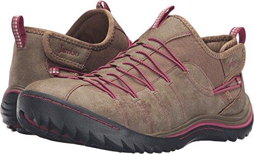 - Jambu Women's Spirit-Vegan Sneaker,Saddle/Sangria Burnished/Melange Textile,US 9