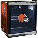 Glaros Officially Licensed NFL Beverage Center / Refrigerator - Cleveland Browns