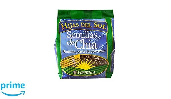 Hijas Del Sol Semillas De Chía - 250 gr - [Pack de 3]: Amazon.es: Alimentación y bebidas