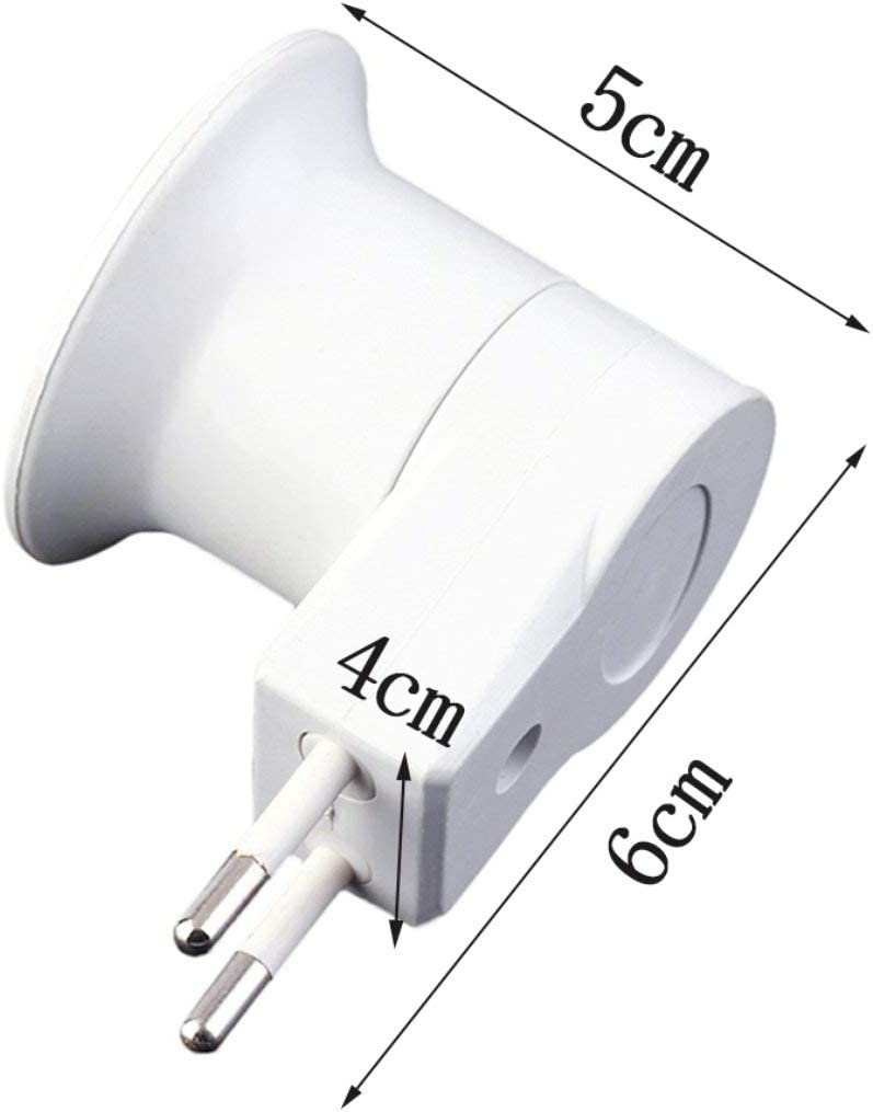Gugutogo E27 Professionelle Super Leichte Lampe Licht Steckdose E27 Sockel Lampensockel Lampenfassung Mit Schalter US//EU Stecker